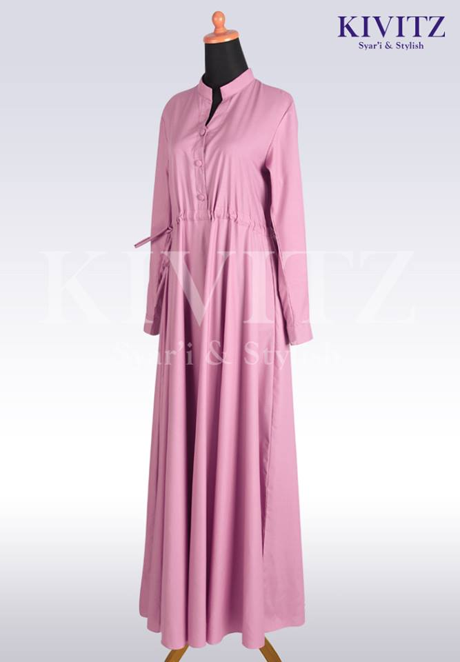 FIZA DRESS DUSTY PINK